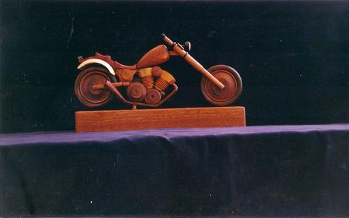 Motorrad gedrexelt