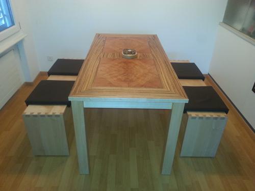 Esstisch und Sitzbanke1